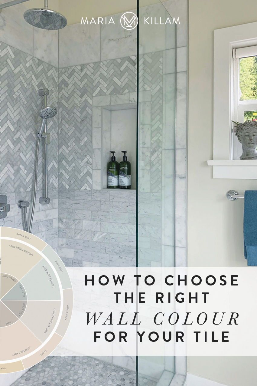 How To Choose The Right Wall Colour With Your Tile In 2020 Wall Colors Timeless Bathroom White Bathroom Designs