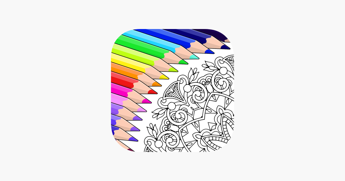 Read Reviews Compare Customer Ratings See Screenshots And Learn More About Colorfy Coloring Art Game Download Co Love Coloring Pages Colorful Art Colorfy