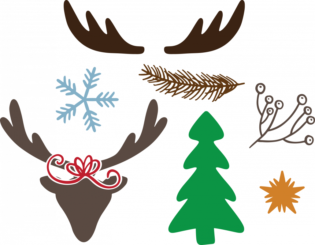 Photo of Christmas elements 7873 free svg svg files for cricut
