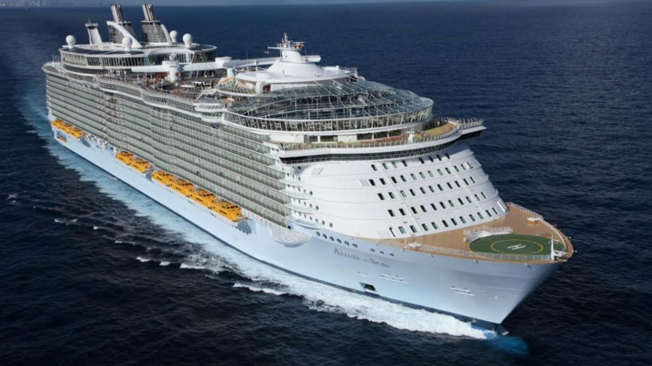 Top Largest Cruise Ships In The World Largest Cruise Ships - Biggest cruise ships list