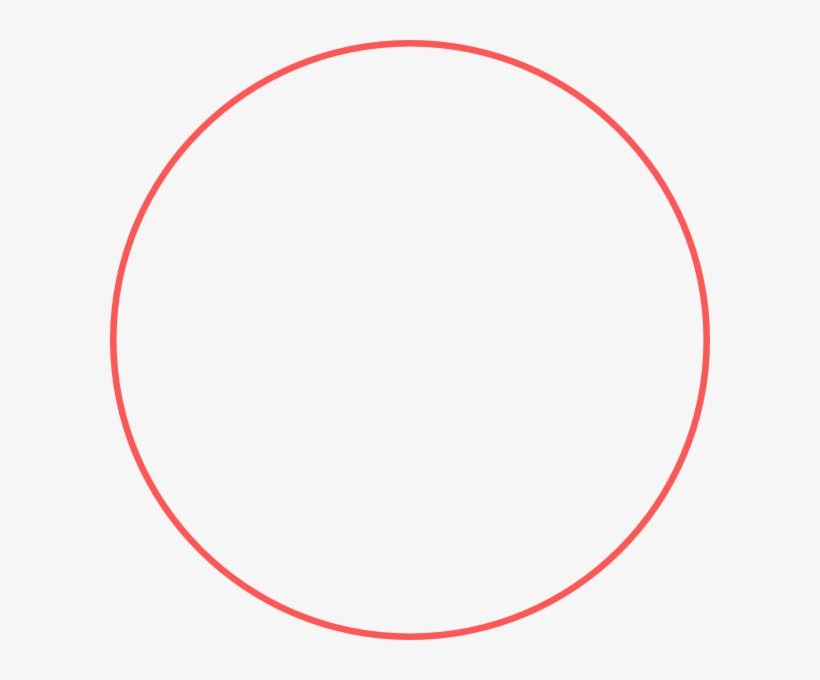 Red Circle Outline Png Draw A Big Circle Transparent Png Circle Outline Circle Template Circle