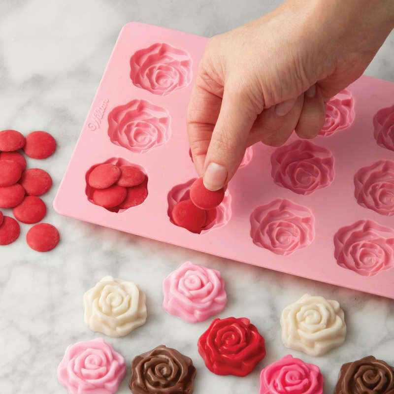 Craft Mold DIY Clay Mold Soap Making Chocolate Mold Resin Mold Cupcake Decorating Poker Ace Silicone Mold