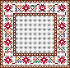 free cross stitch pattern #sewingbeginner