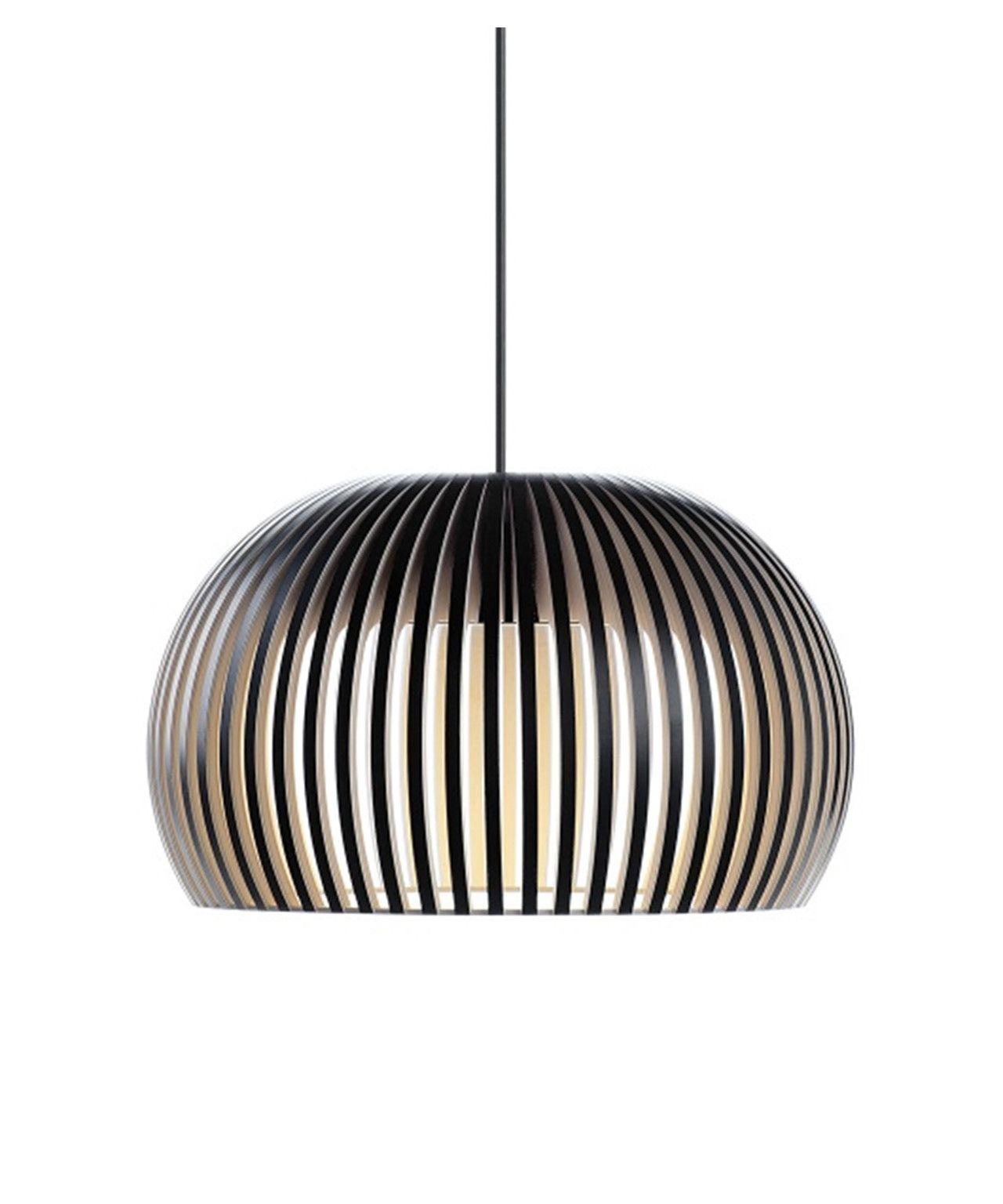 Atto 5000 Pendel Svart Secto Pendellampe Lampe Design Lamper