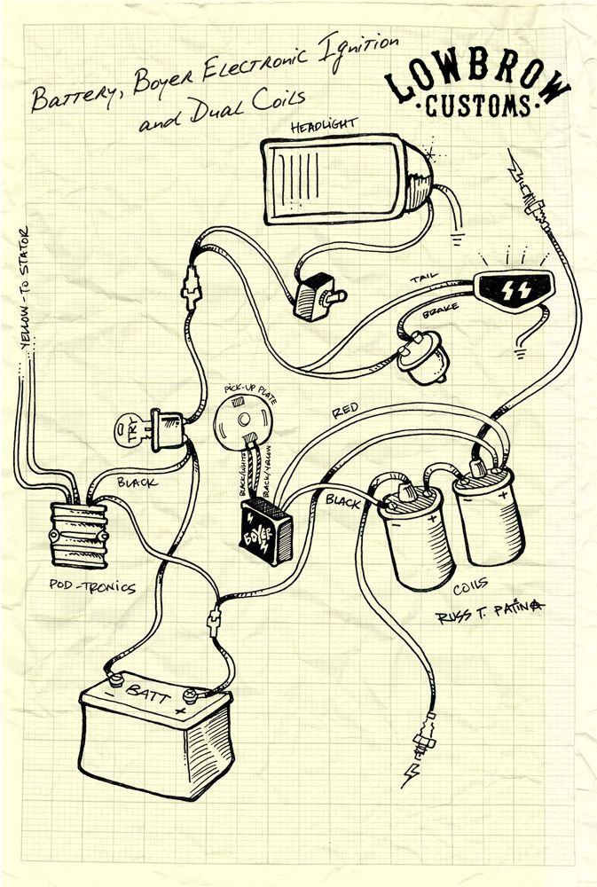 triumph bobber wiring diagram waitting co rh waitting co Boyer Ignition Wiring Diagram 1973 Triumph TR6 Wiring-Diagram