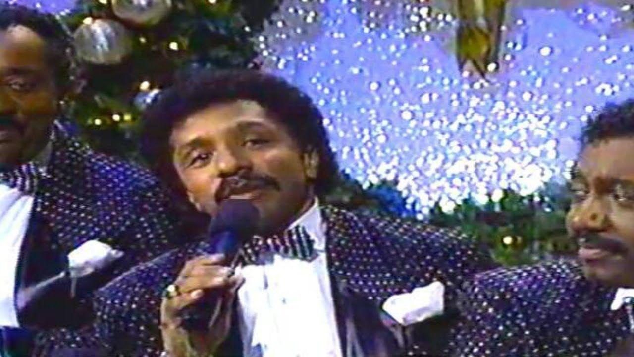 Temptations Christmas.The Temptations Silent Night 1987 Hq Christmas
