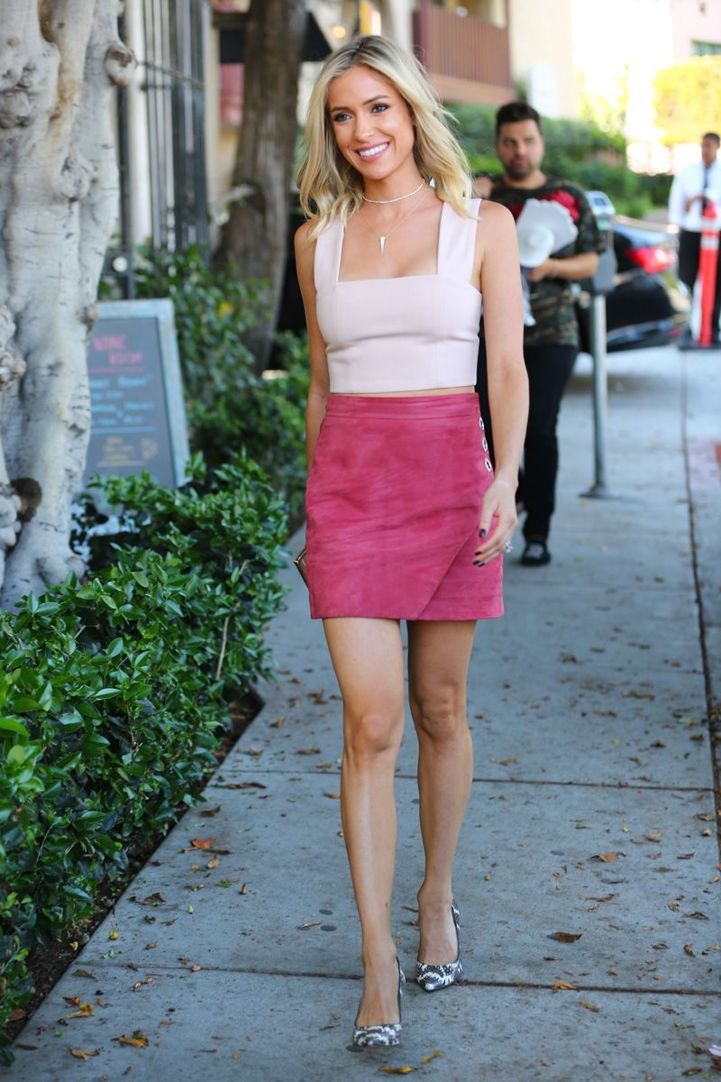 88fb3f6ad3445d Wearing Pink Is Easy In Spring and Summer, Kristin Cavallari Shows Up How  To Transition It To Fall