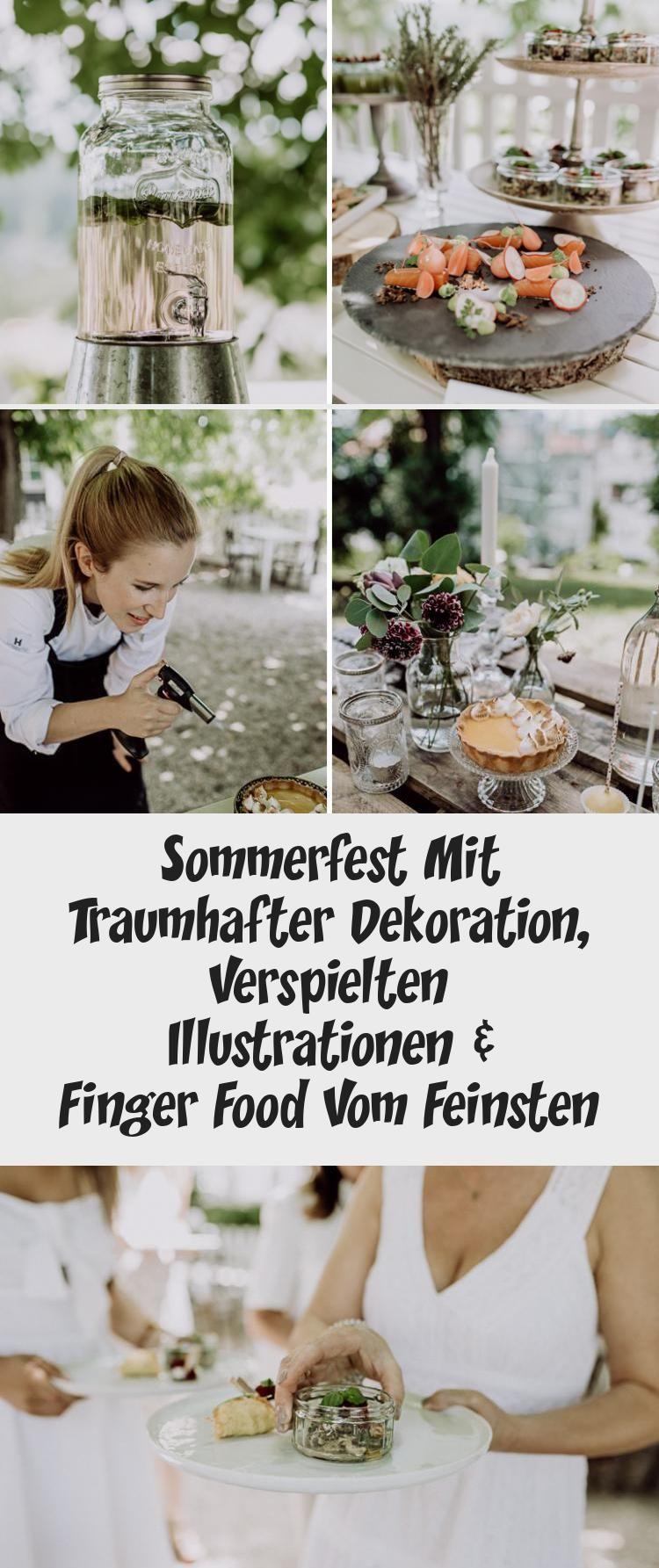 Photo of Sommerfest Mit Traumhafter Dekoration, Verspielten Illustrationen & Finger Food Vom Feinsten – Dekoration