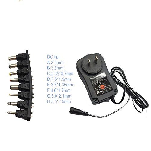 3v 4 5v 5v 6v 7 5v 9v 12v Ac Dc Power Adapter 1a Universa Https Www Amazon Com Dp B01lbx8d58 Ref C Universal Power Adapter Universal Adapter Power Adapter