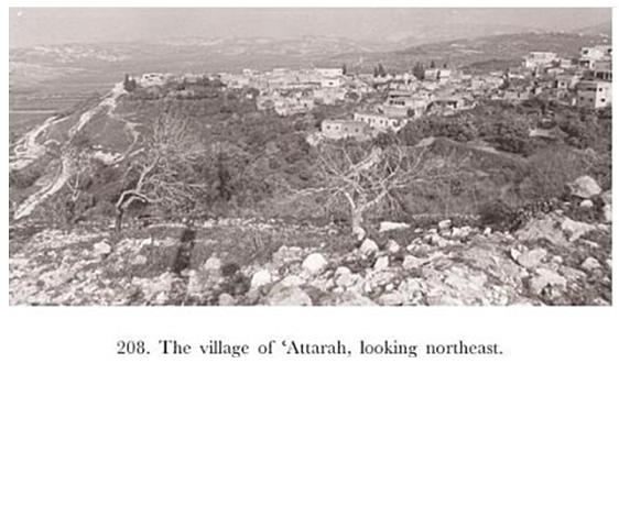 بلدة العطارة جنوب جنين وقرب بلدة سيلة الظهر من جهة الغرب سنة 1980 Palestine History Beautiful Places Village