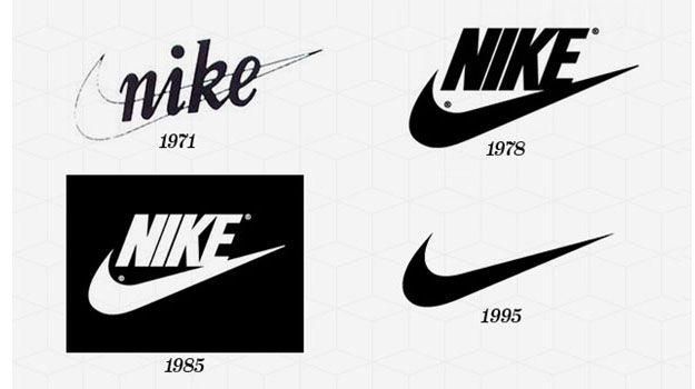 Nike logo design | Identity & Branding | Logos, Sports brand ...