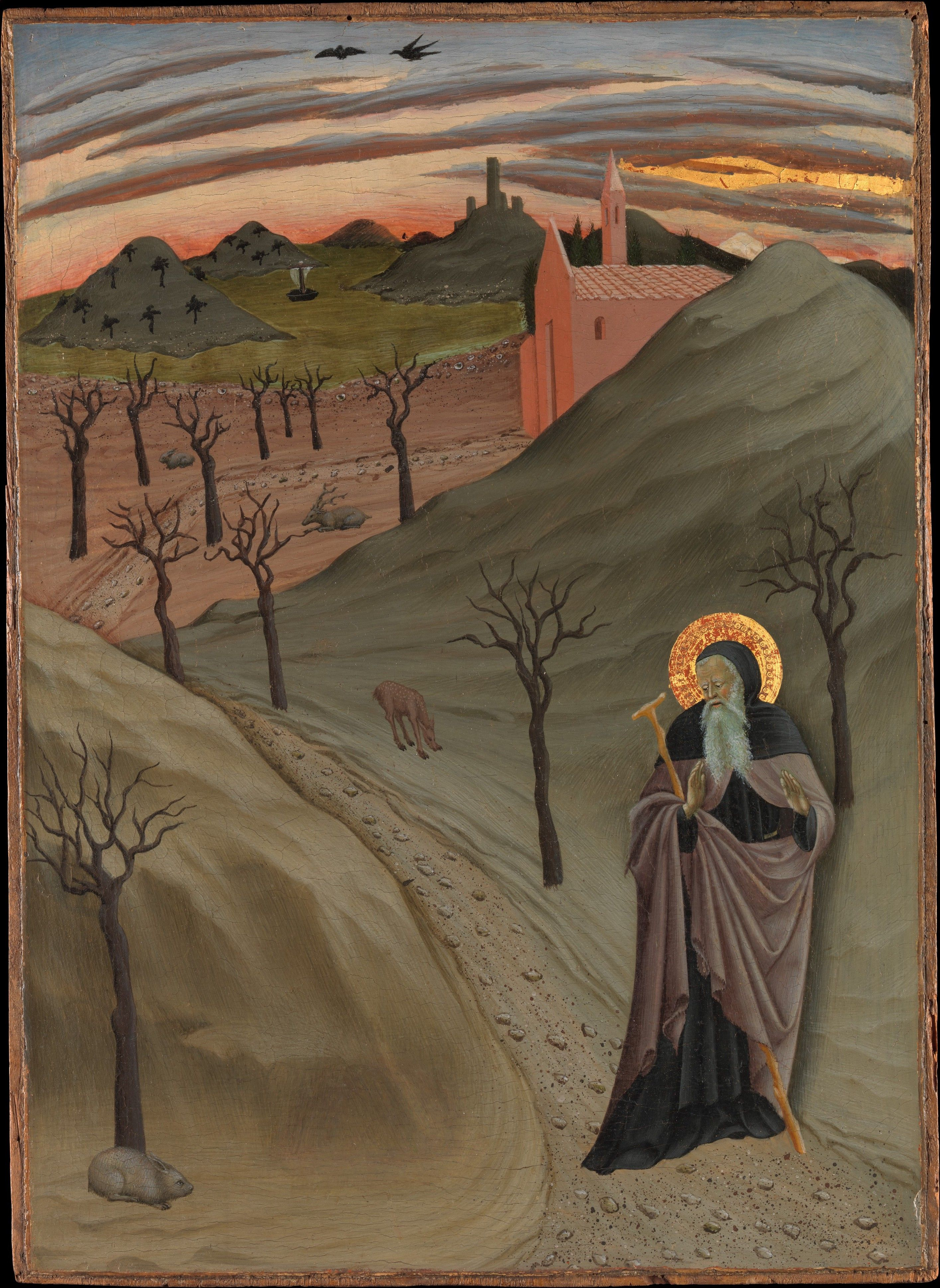 Osservanza Master | Saint Anthony the Abbot in the Wilderness | The Met