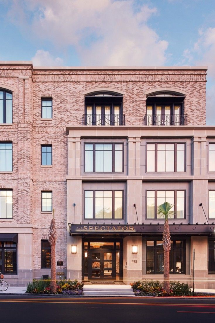 The Spectator Hotel Is A Brand Boutique Beauty In Heart Of Charleston S Historic District
