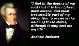 Andrew Jackson Quotes Glamorous Andrew Jackson Quotes Photos  Bing Images  Mahk's Board