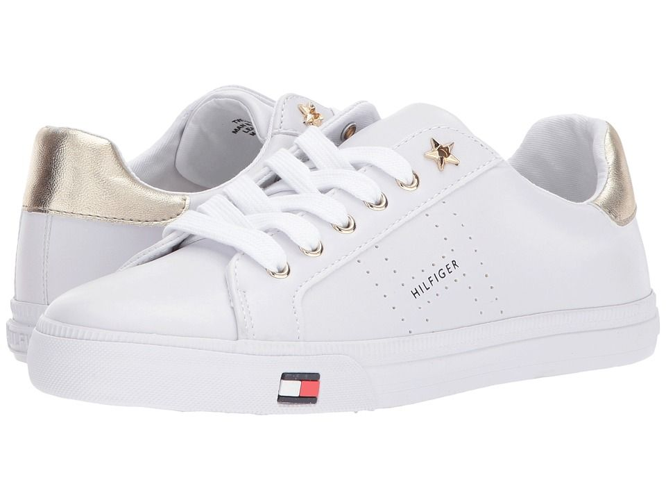 a1e6a9c11 TOMMY HILFIGER TOMMY HILFIGER - LUSTERY (WHITE GOLD) WOMEN S SHOES.   tommyhilfiger  shoes