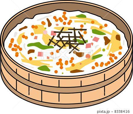 ちらし寿司のイラスト素材 pixta ちらし寿司 寿司 素材