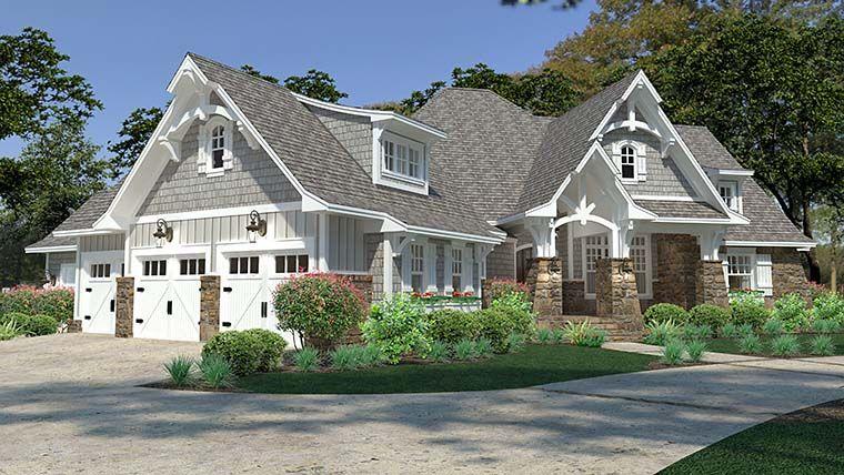 Farmhouse Style House Plan 75149 With 3 Bed 3 Bath 3 Car Garage Cottage Style House Plans Craftsman Style House Plans Farmhouse Style House Plans