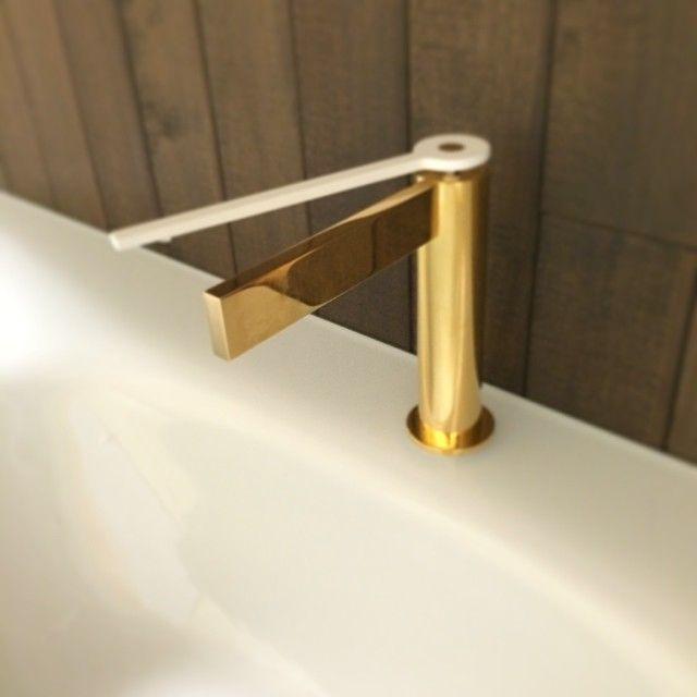 Aquabrass Time Faucet, Custom Gold Finish #Aquabrass #Gold #Time ...