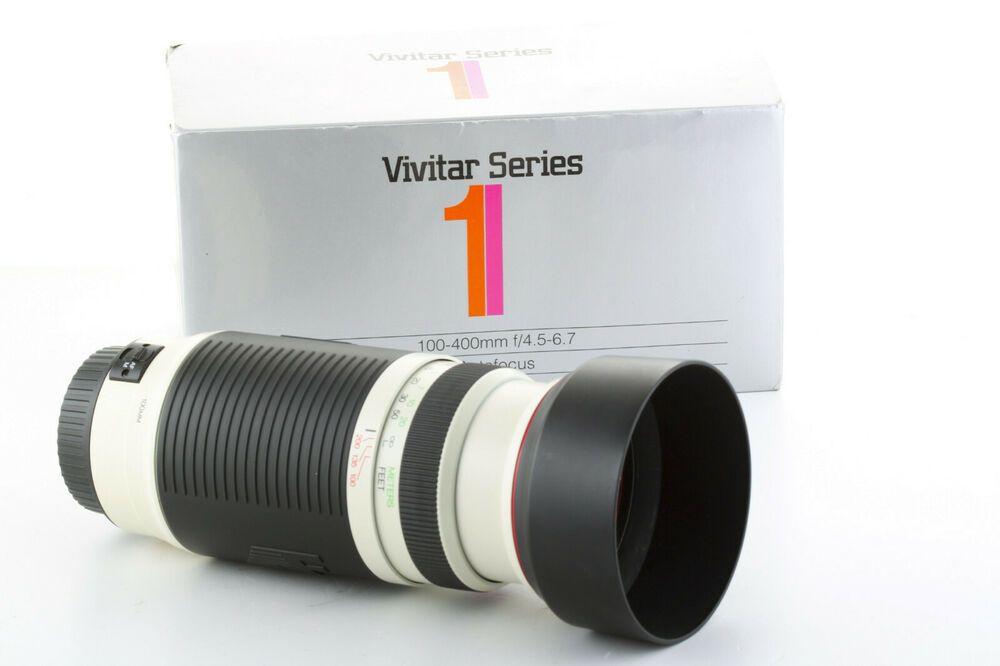 Objectif Vivitar Serie 1 100 400mm Pour Canon Eos Ef Cosina Garanti 6 Mois Category Stuff To Buy Series