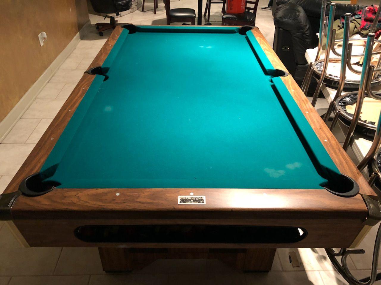 7 Brunswick Billiards Brighton Pool Table Billiard Pool