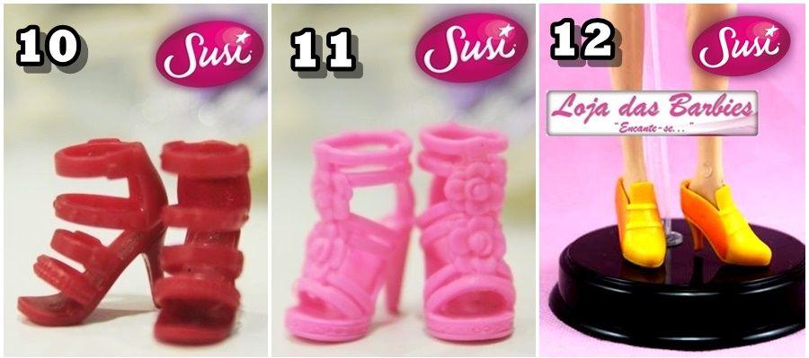 Sapatos Para Boneca Susi Antiga * Estrela * Vários Modelos ! - R$ 9,90 no MercadoLivre