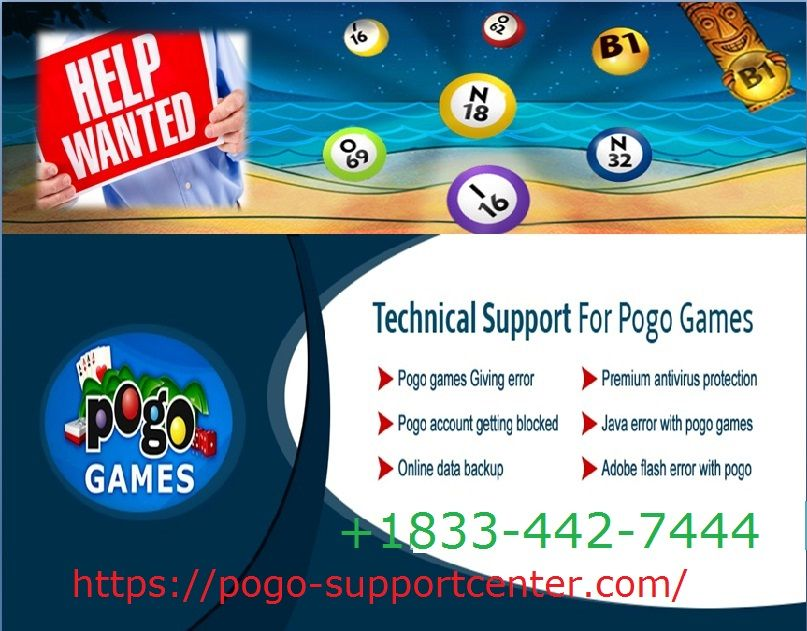 18334427444 pogo game technical support phone number