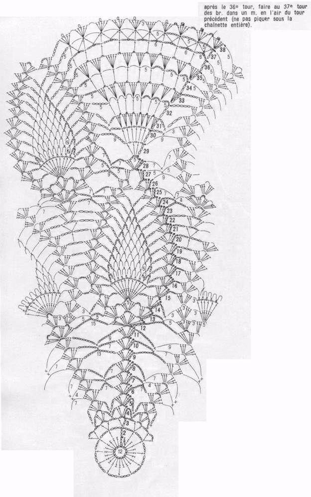 Crochet Table Center Snow White | For the Home | Pinterest | Croché ...