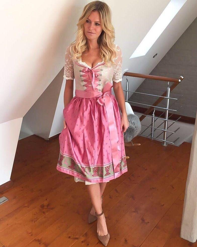 Traum-Dirndl in Rosa und Mint - perfekt präsentiert von  trendily.de   94f99e4517