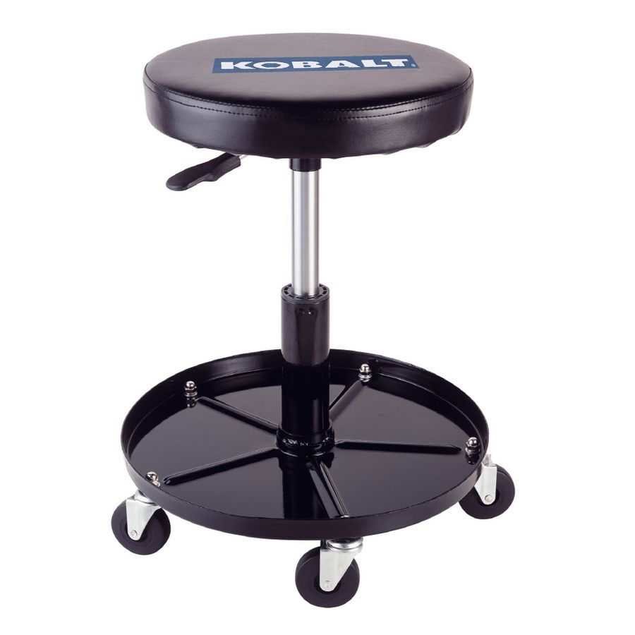 Shop Kobalt Adjustable Stool with Wheels at Lowes.com  sc 1 st  Pinterest & Shop Kobalt Adjustable Stool with Wheels at Lowes.com | Garage ... islam-shia.org