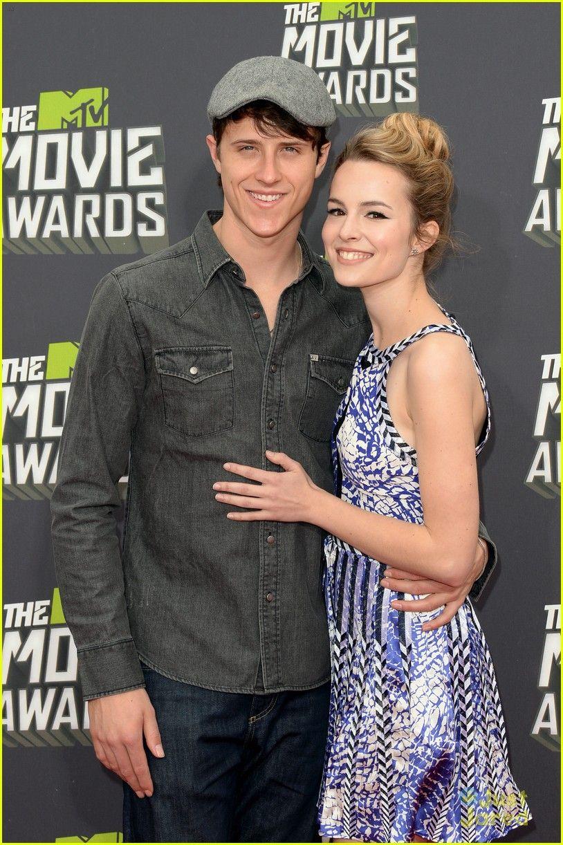 Bridgit Mendler cozies up to boyfriend musician Shane