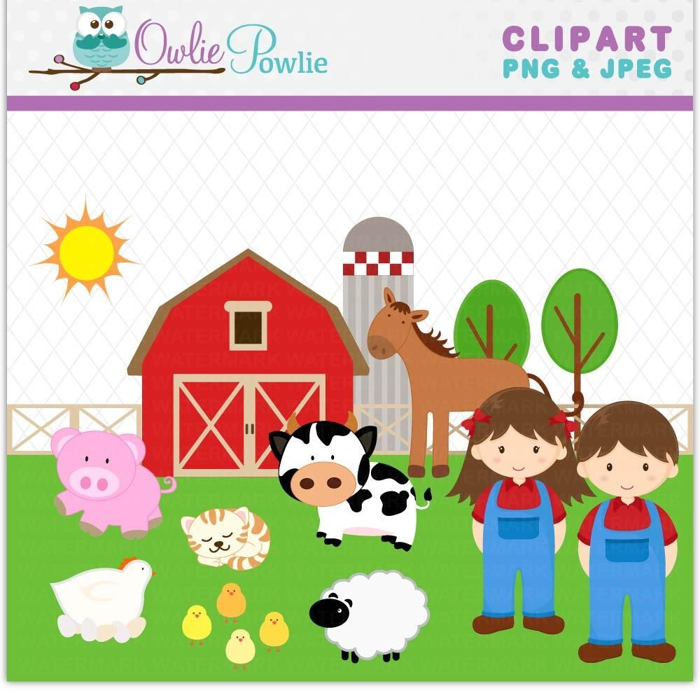 Farm Barn Kids Clipart Clipart