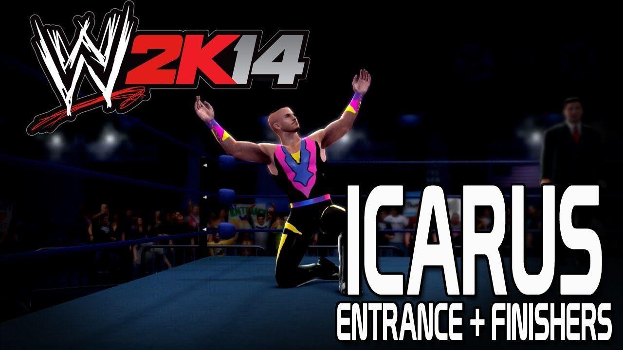 WWE 2K14 - Icarus Entrance + Finishers