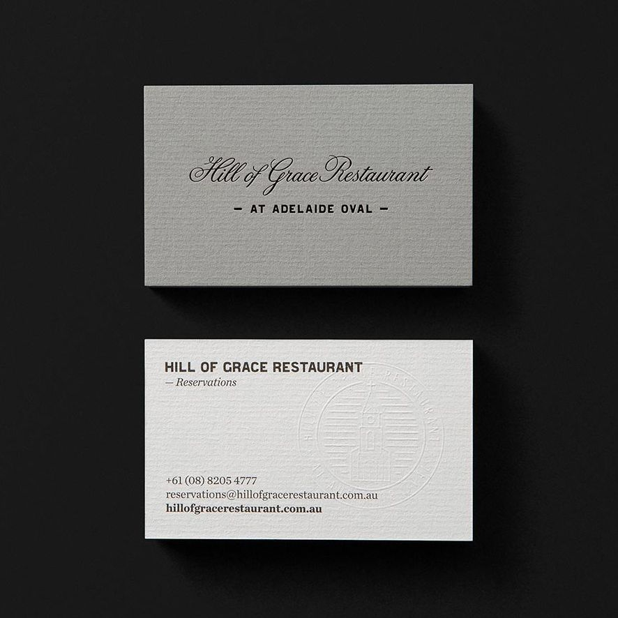 New Brand Identity for Hill Of Grace Restaurant by Band — BP&O ...