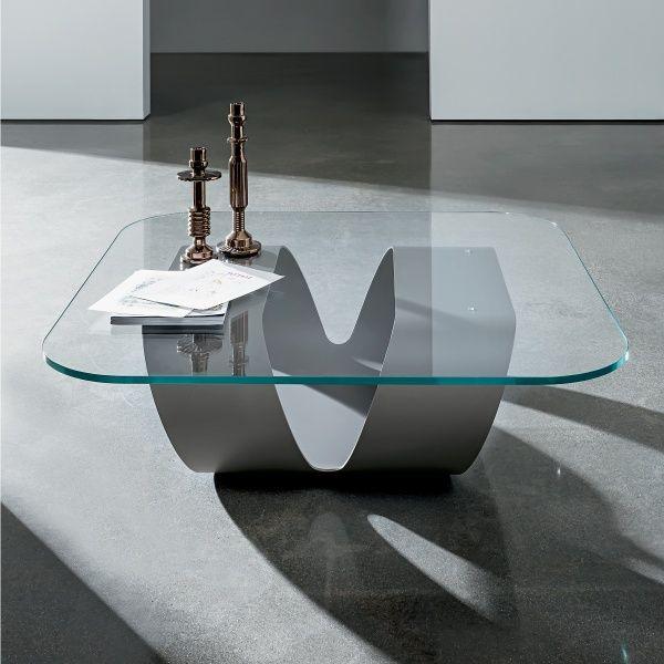 table basse design en verre - ring sovet | salons and tables