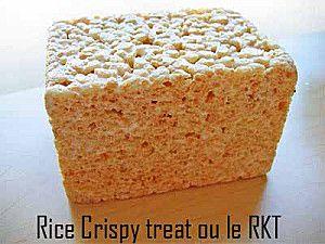 CROUSTILLANT A MODELER RECETTE & VIDEO CRAM RKT Rice Krispies Treat