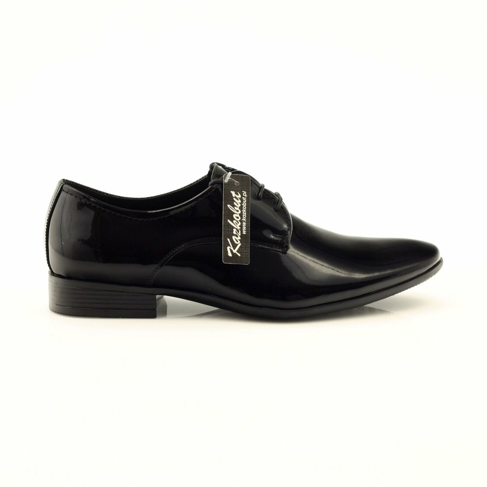 Classic men's shoes Kazkobut 2620 black black – Shoes