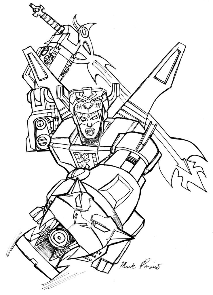 voltron lions coloring pages