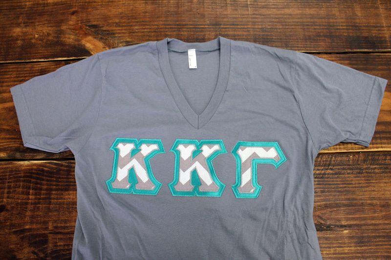 Kappa Kappa Gamma letter shirt
