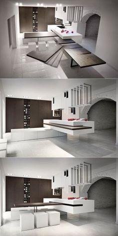 25 plans de travail de cuisine uniques design bois montres pinterest comptoir cuisine plan de travail and comptoir