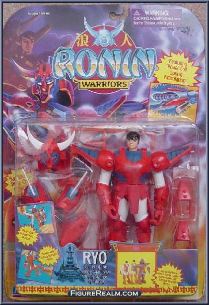 Playmates Ryo From Ronin Warriors Collection Pinterest Action