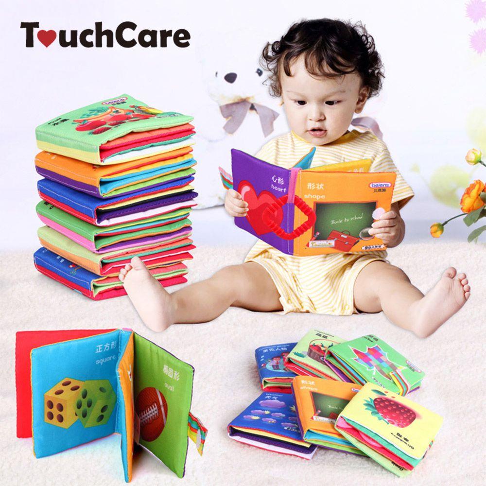 Baby Speelgoed Bijtring Baby Zon Doek Boek Baby Toys 0 12 Maanden