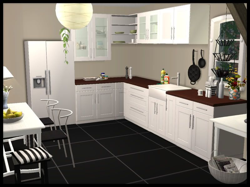 mystic_rain | Faktum Kitchen (Ikea look-a-like) | Kitchen ...