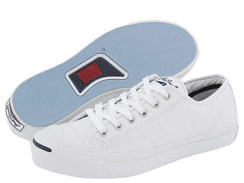 Converse Jack Purcell® Leather White Navy - Zappos.com Free Shipping BOTH  Ways 786a2450850a