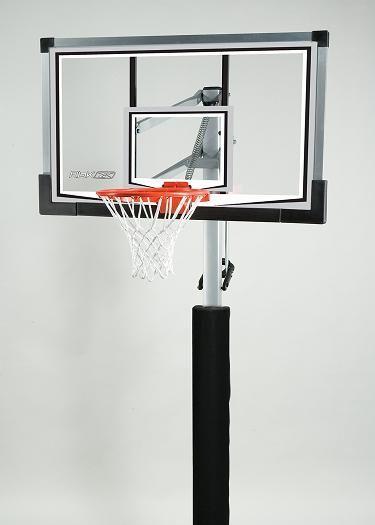 reputable site 04f7c 0e01e SO Reebok 59971 In-Ground Glass Backboard Basketball Hoop Goal System