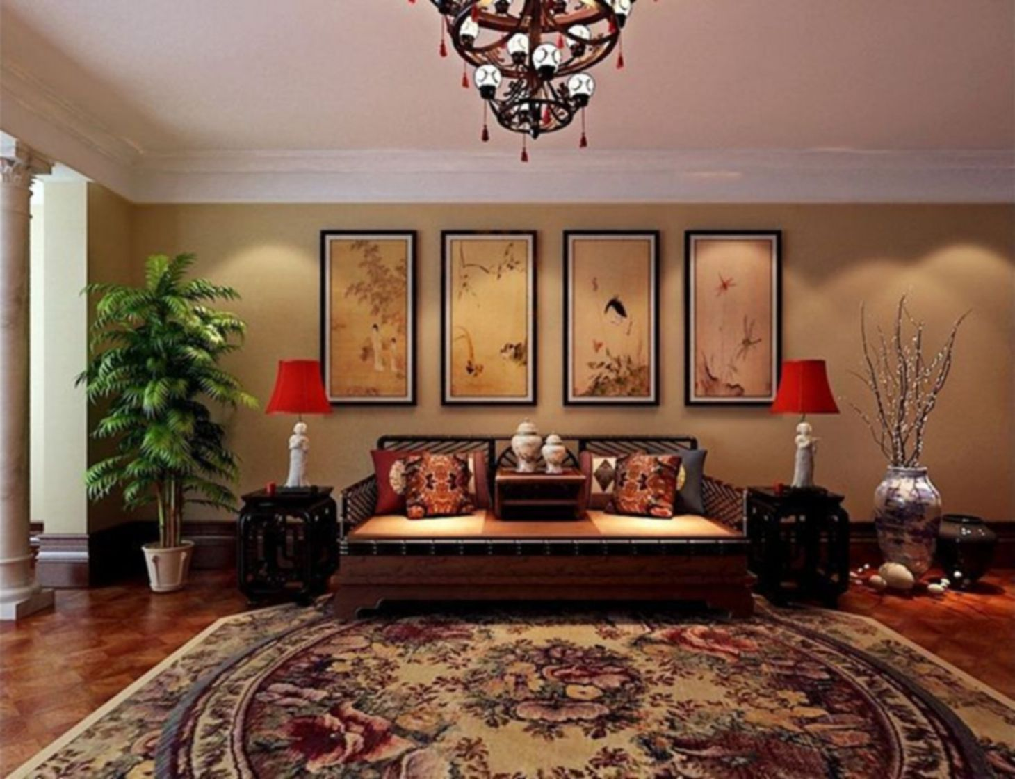 9 Beautiful Living Room Design And Decoration To Make Your Chinese