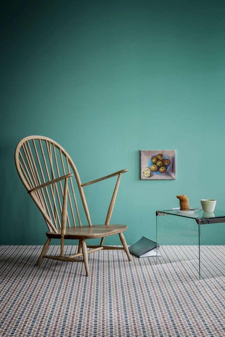 Déco Salon Ente Blau: Malerei, Möbel Und Accessoires #accessoires #malerei # Mobel #salon