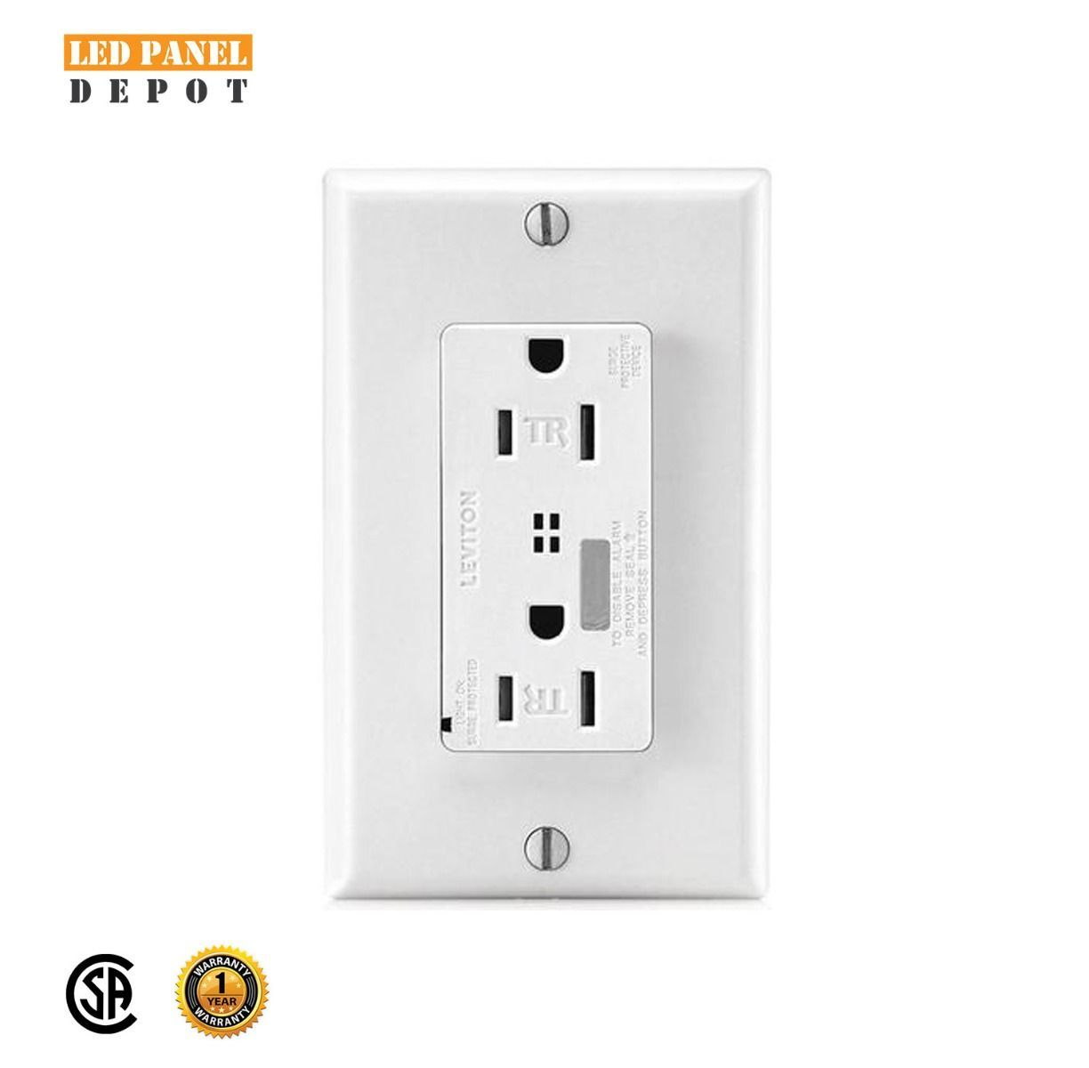 Ideal For Point Of Use Surge Protection In Residential Commercial And Industrial Applications Normal And Common Mode Surge P Led Indicator Led Panel Leviton