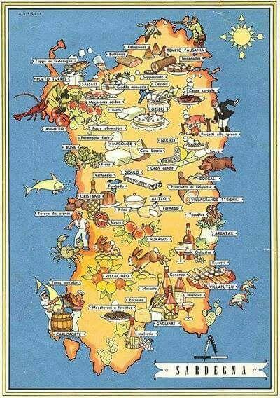 Cartina Sardegna Turistica.Sardegna Gastronomica Sardegna Italia Sardegna Italia