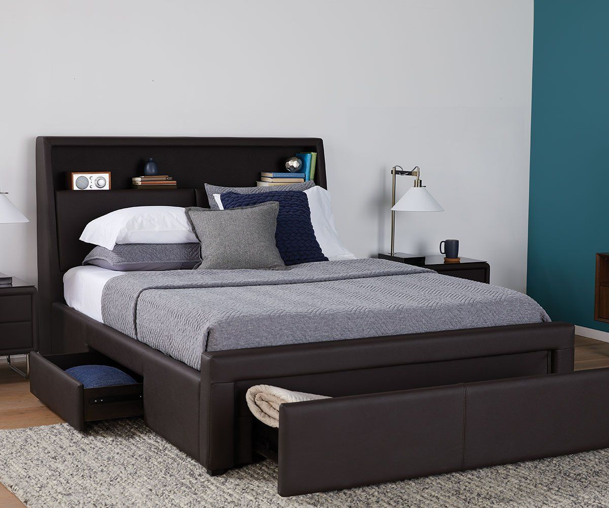 Lukko Storage Bed Bed Designs With Storage Bedroom Bed Design