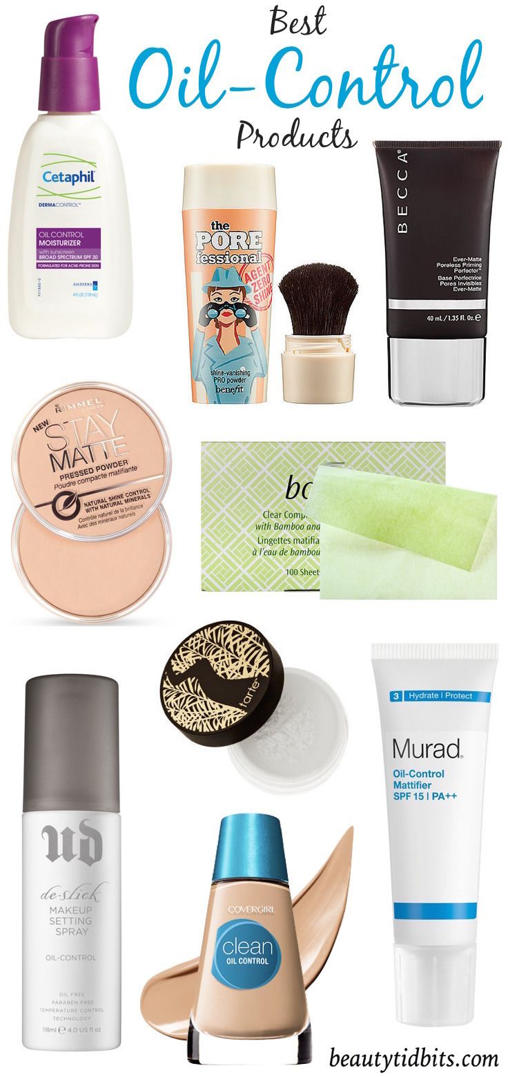Matte Makers Best Shine Control Products For Oily Skin Oil Control Products Oily Skin Makeup Skin Makeup
